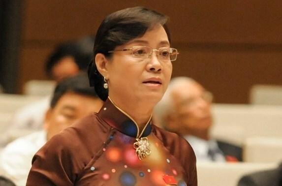 Bà Nguyễn Thị Quyết Tâm. Ảnh: Trung tâm báo chí Quốc hội