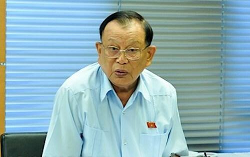 Đại biểu Nguyễn Văn Được. Ảnh: Trung tâm báo chí Quốc hội.