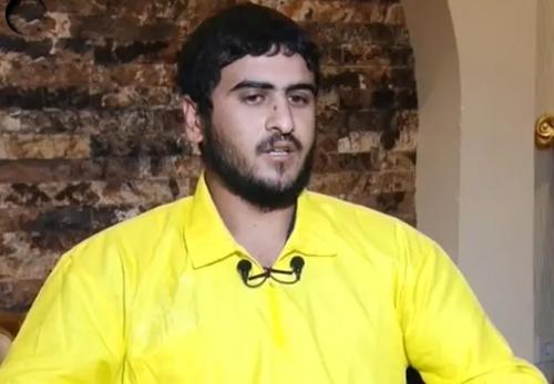 Mohammed Ali Sajet, phụ tá củaAbu Bakr al-Baghdadi. Ảnh: Alarabiya.