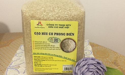 Gạo hữu cơ Phong Điền