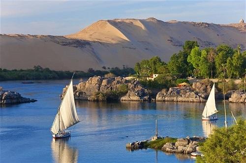 Du lịch trên sông Nile ở Ai Cậprất phổ biến. Ảnh:Getty Images