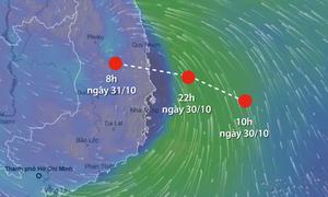 Hơn 600 tàu thuyền chưa vào bờ tránh bão Matmo