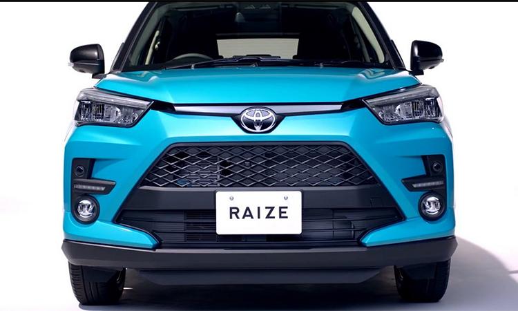 Toyota Raize - tiểu RAV4 lộ diện - 1