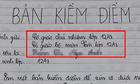 Khi há»c sinh chuyên VÄn viết bản kiá»m Äiá»m vì Äi há»c muá»n
