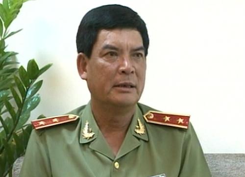 Trung tướng Trình Văn Thống. Ảnh: ANTĐ