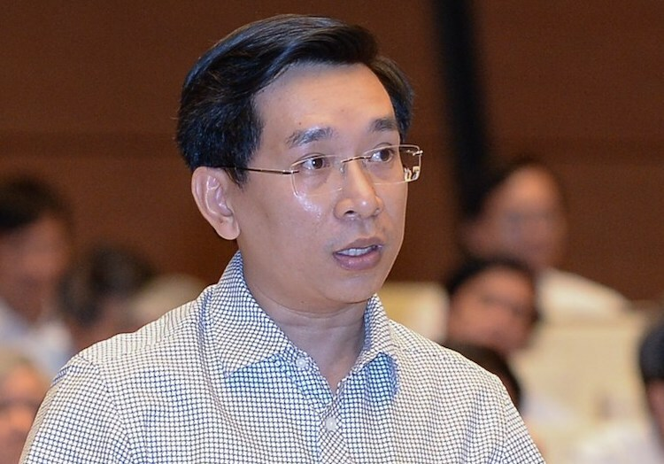 Đại biểu Nguyễn Văn Cảnh: Ảnh: Trung tâm báo chí Quốc hội