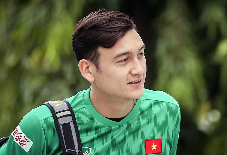 Đặng Văn Lâm hội quân cùng đội tuyển Việt Nam