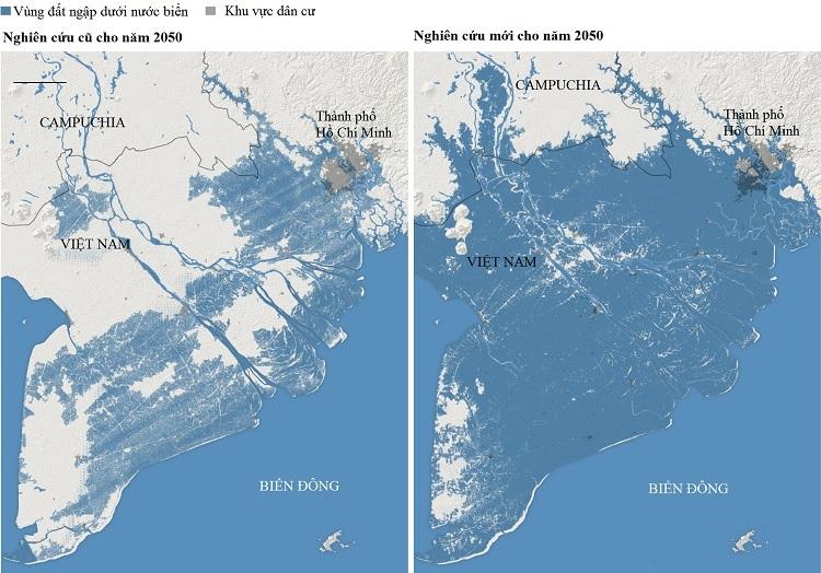 Miền nam Việt Nam có thể biến mất do nước biển dâng