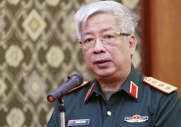Thượng tướng Nguyễn Chí Vịnh - Thứ trưởng Bộ Quốc phòng. Ảnh: Gia Chính