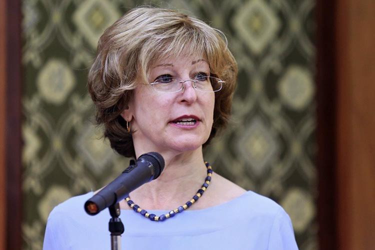Bà Bonnie Glick, Phó Giám đốc toàn cầu Cơ quan Phát triển quốc tế Hoa Kỳ. Ảnh: Gia Chính
