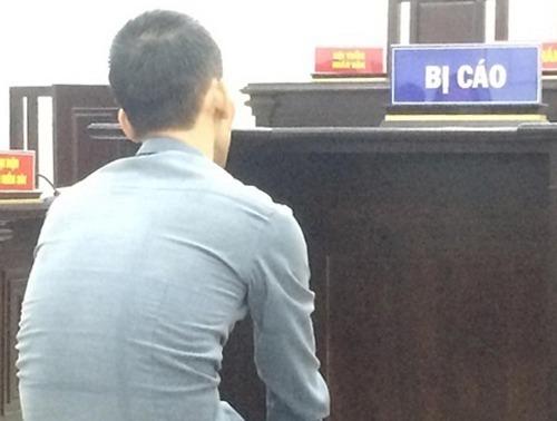 Bị cáo Duy tại phiên tòa ngày 1/11.