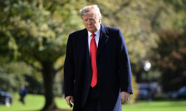 Tổng thống Mỹ Donald Trump tại Nhà Trắng hôm 3/11. Ảnh: AFP.