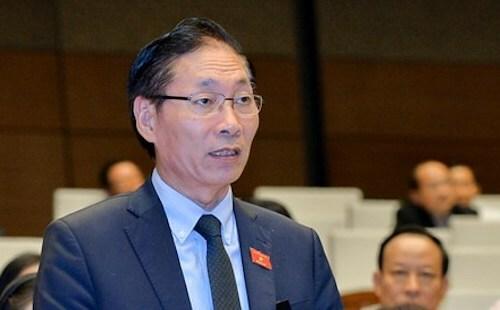 Đại biểu Nguyễn Chiến. Ảnh: Trung tâm báo chí Quốc hội