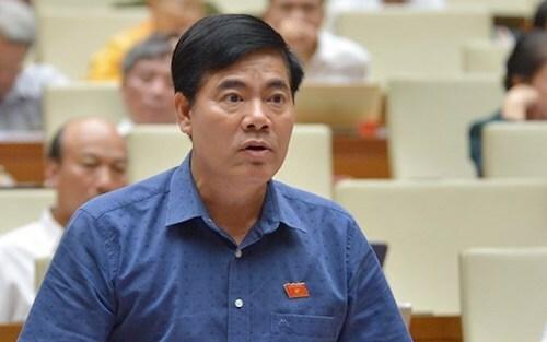 Đại biểu Nguyễn Quang Dũng (Quảng Nam). Ảnh: Trung tâm báo chí Quốc hội