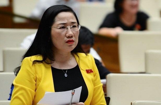 Đại biểu Nguyễn Thị Thuỷ. Ảnh: Trung tâm báo chí Quốc hội