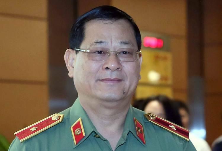 Thiếu tướngNguyễn Hữu Cầu, Giám đốc Công an tỉnh Nghệ An. Ảnh: Ngọc Thắng