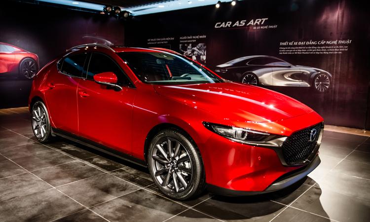 Mazda3 thế hệ mới với một sốkhác biệt về thiết kế, có tất cả 10 phiên bản. Ảnh:Minh Quân