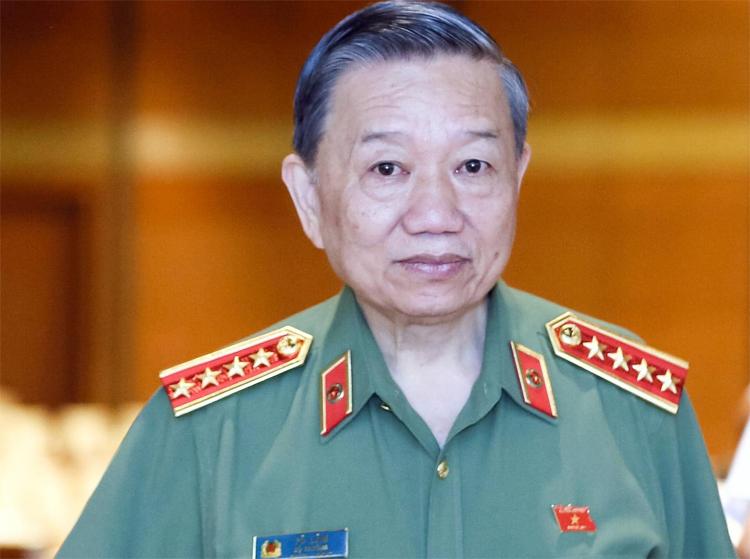 Bộ trưởng Công an Tô Lâm. Ảnh: Ngọc Thắng