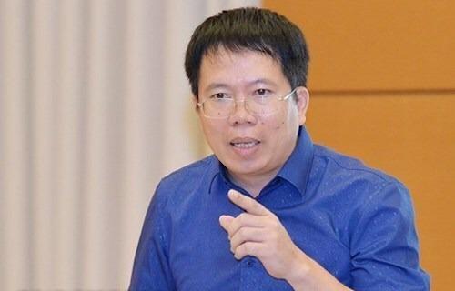 Đại biểu Nguyễn Văn Hiển. Ảnh: Trung tâm báo chí Quốc hội