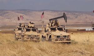 Thiết giáp Mỹ tuần tra quanh mỏ dầu Syria