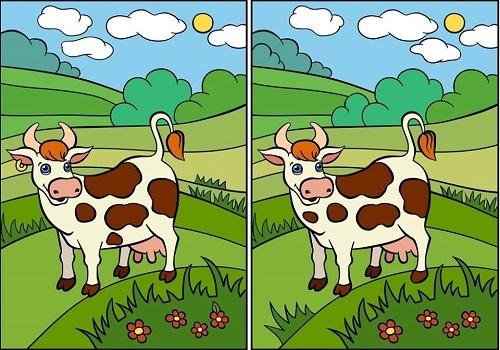 Tìm điểm khác biệt giữa những cặp tranh - 2