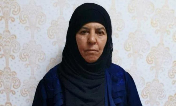 Rasmiya Awad, chị gái Baghdadi, trong bức ảnh do quan chức an ninh Thổ Nhĩ Kỳ công bố hôm 4/11. Ảnh: Reuters.