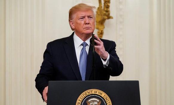 Tổng thống Mỹ Donald Trumptrong một sự kiệntại Nhà Trắng hôm 30/10. Ảnh: Reuters.
