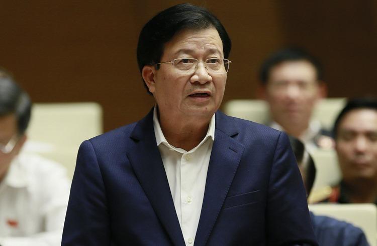 Phó thủ tướng Trịnh Đình Dũng. Ảnh: Hoàng An
