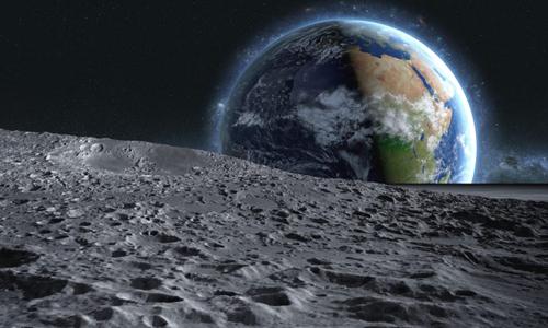 Vùng không gian Trái Đất - Mặt Trăng có tiềm năng phát triển lớn. Ảnh: