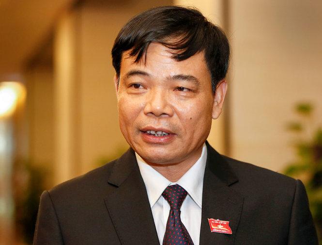 Bộ trưởng Nguyễn Xuân Cường. Ảnh: Ngọc Thắng