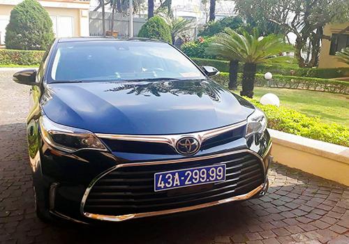 Chiếc Toyota Vũ Nhôm tặng để ông Nguyễn Xuân Anh sử dụng trong giai đoạn làm Bí thư Thành uỷ Đà Nẵng. Ảnh: N.Đ.