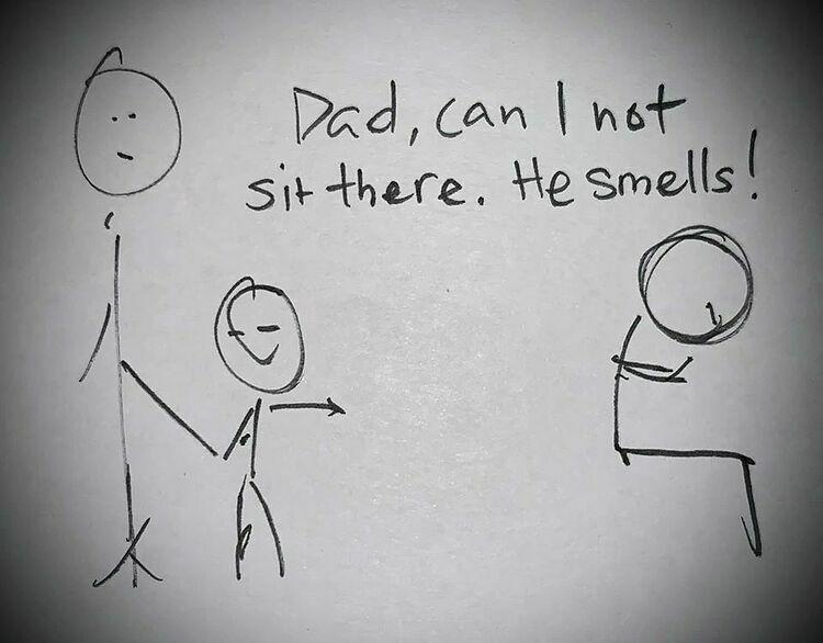 Ông bố vẽ tranh dạy con về sự đồng cảm - 1