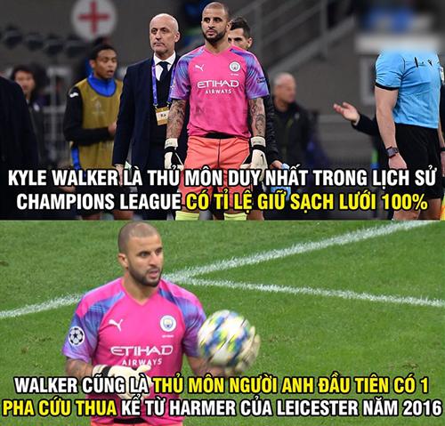 Thống kê kinh khủng của thủ môn người Anh.