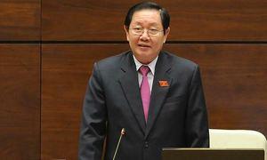 Bộ trưởng Nội vụ tiếp tục trả lời chất vấn