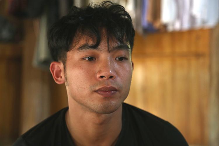 Đặng Văn Sơn khi bị bắt giam mới 20 tuổi. Ảnh: Phạm Dự.