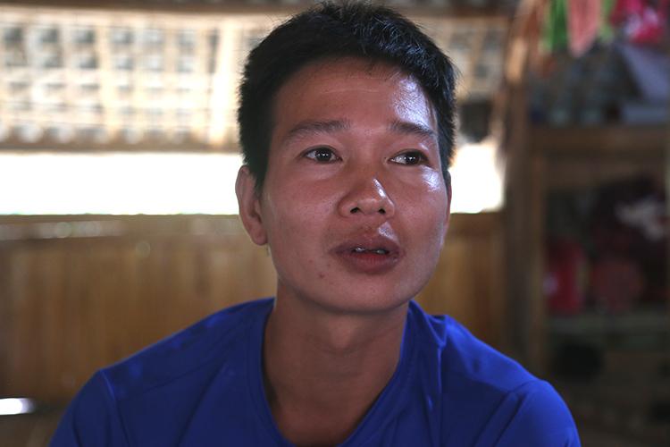 Anh Đặng Văn Quang. Ảnh: Phạm Dự.