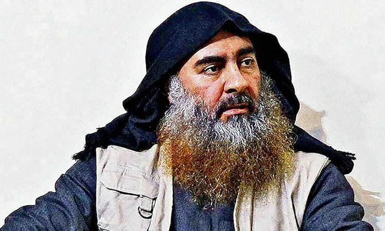 Abu Bakr al-Baghdadi trong một bức hoạdo Bộ Quốc phòng Mỹ công bố ở Washington ngày 31/10. Ảnh: Reuters.