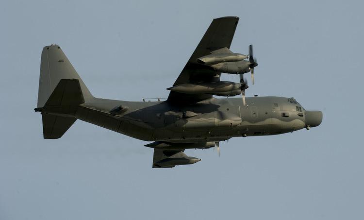 Một vận tải cơ MC-130H của không quân Mỹ. Ảnh: USAF.