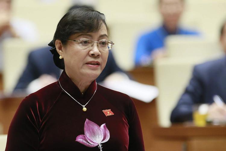 Bà Nguyễn Thị Quyết Tâm. Ảnh: Ngọc Thắng