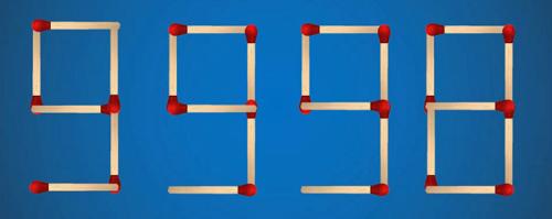 Di chuyển 2 que diêm để tạo ra số lớn nhất có 4 chữ số - page 2