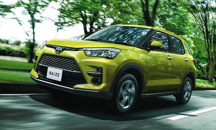 Toyota Raize - crossover mới bán ra tại Nhật Bản, sử dụng chung nền tảng DGNA của Daihatsu.