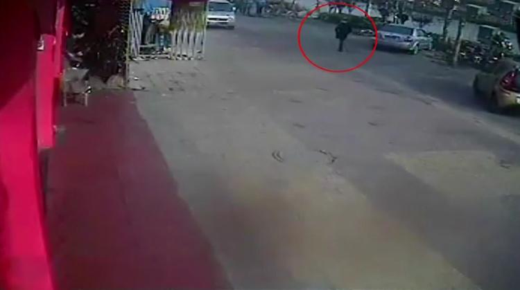 Hình ảnh người phụ nữ bí ẩn. Ảnh: CCTV.