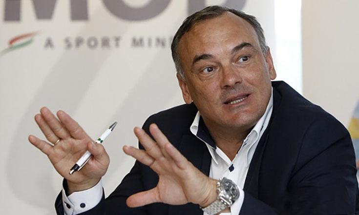 Borkai khi còn là Chủ tịch Uỷ ban Olympic Hungary tháng 8/2016. Ảnh: Hungary Today.