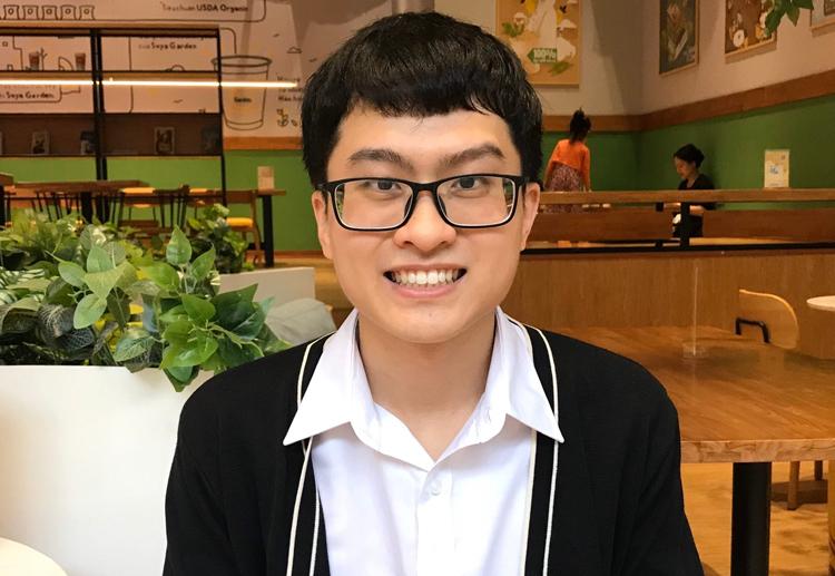 Thủ khoa Y đa khoa, Đại học Hà Nội khóa 2013-2019. Ảnh: Tú Anh