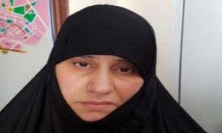 Asma Fawzi Muhammad al-Qubaysi, người được cho là vợ cả của thủ lĩnh IS Baghdadi. Ảnh: Reuters.