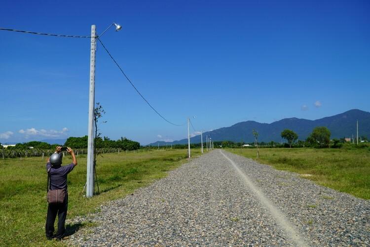 Hạ tầng trái phép trên khu đất nông nghiệp 10 ha tại xã Hàm Hiệp. Ảnh: Việt Quốc