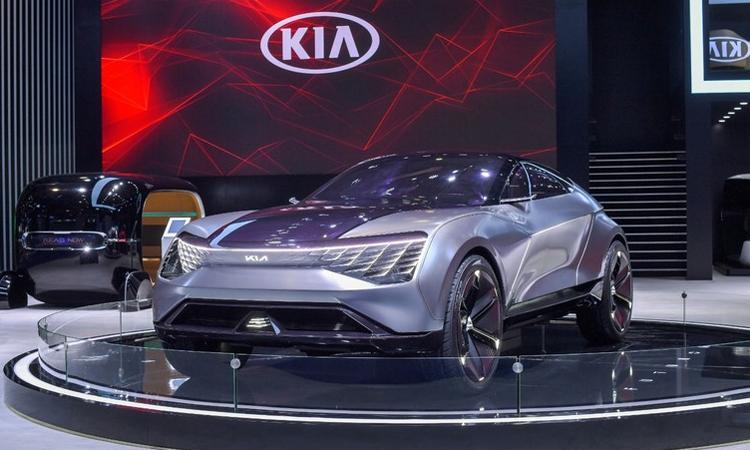 Kia Futuron tại triển lãm xuất nhập khẩu quốc tế Trung Quốc (CIIE). Ảnh: PC Auto