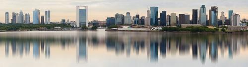 Một góc thủ đô Buenos Aires của Argentina bên dòngRio de la Plata. Ảnh: Shutterstock