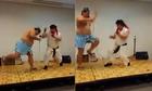 Trận so tài đỉnh cao của hai võ sĩ Nhật