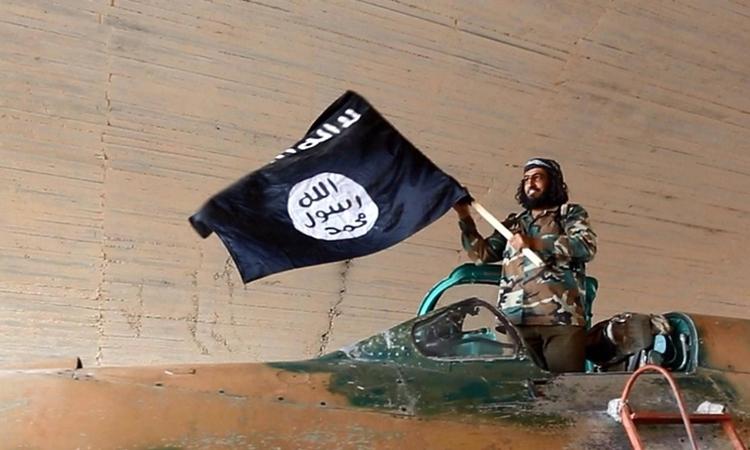 Chiến binh IS ở Syria năm 2014. Ảnh: AP.